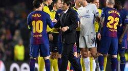 """HLV Conte: """"Messi là sự khác biệt giữa Barcelona và Chelsea"""""""