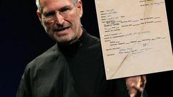 Chốt giá khủng dành cho đơn xin việc đầu tay của Steve Jobs
