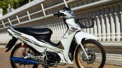 Xe số Honda Wave 125i trắng ngọc trai, độ lên quá đẹp
