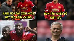 """ẢNH CHẾ BÓNG ĐÁ (23.3): Tiến Dũng """"tụt dốc"""", Mourinho đen đủi"""