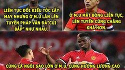 """ẢNH CHẾ BÓNG ĐÁ (25.3): Sanchez và Pogba ăn hại, Ronaldo """"hóa hổ"""""""