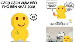 Cười ngất với cách giảm béo siêu hot của 2018