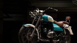 Royal Enfield Bullet 350Cerulean: Độc đáo với màu sơn xanh da trời bắt mắt