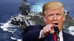 Dấu hiệu Trump tính giáng đòn chống lại cả Triều Tiên lẫn Iran