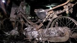 150 xe máy cháy trơ khung được kéo ra khỏi hầm chung cư Carina