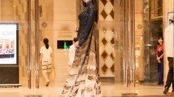 Choáng với áo dài 10m được thiết kế dành riêng cho hoa hậu Đỗ Mỹ Linh