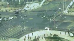Video: Đoàn xe chở Kim Jong-un lăn bánh trên đường phố Bắc Kinh?