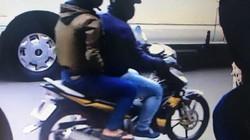 Camera an ninh nhận dạng 2 kẻ nghi dùng súng cướp ngân hàng ở TPHCM
