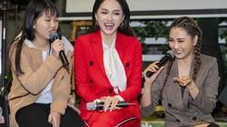 Hoa hậu chuyển giới Hương Giang diện cây đỏ rạng rỡ gặp fan tại Hà Nội
