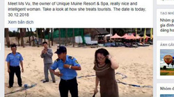 Vụ chặt lưới bóng chuyền của khách tây trên bãi biển: Khách tây cũng...