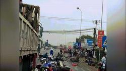 Container tông hàng loạt xe máy dừng đèn đỏ: Hiện trường khủng khiếp như thảm họa