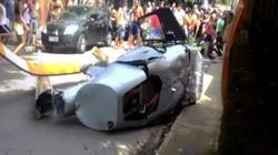 Brazil: Đang đi bộ trên đường, bị trực thăng rơi trúng chết thảm