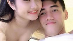 """Khoảnh khắc """"ngọt như đường"""" của cầu thủ Tiến Linh và bạn gái giáo viên"""