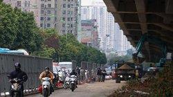 Ảnh, clip: Hà Nội ách tắc triền miên vì đường thi công ồ ạt cận Tết