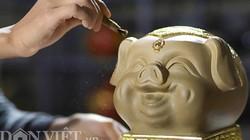 Ảnh: Lợn đất dát vàng giá gần trăm triệu đắt khách ở Bát Tràng