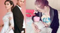 Lâm Khánh Chi khoe con trai sinh nhờ mang thai hộ, nặng 3,5 ký, giống ông xã