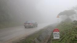 Hiểm họa sương mù mùa đông trên quốc lộ 6