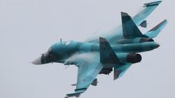Hai máy bay ném bom Su-34 đâm nhau trên bầu trời Nga
