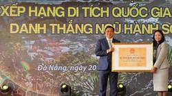 Đà Nẵng nhận bằng xếp hạng Di tích quốc gia đặc biệt danh thắng Ngũ Hành Sơn