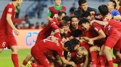 Asian Cup 2019: Xuân Trường làm gì khi đồng đội mừng chiến thắng lịch sử?