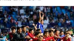 Báo Hàn Quốc đánh giá bóng đá Việt Nam đã vươn tầm châu Á