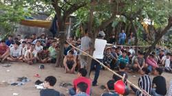 Hàng trăm cảnh sát vây ráp trường gà khủng, bắt gần 120 con bạc