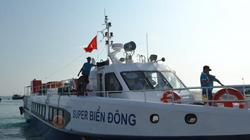 Quảng Ngãi: Tàu khách siêu tốc Super Biển Đông tông chìm tàu cá