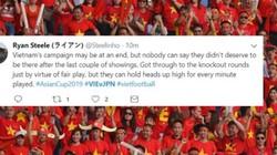 CĐV nước ngoài cảm phục trận thua kiên cường của Việt Nam trước Nhật Bản