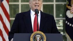 Ông Trump mở cửa chính phủ mà không có bức tường biên giới