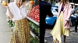 3 mẫu váy chứng minh vàng là màu sắc thời thượng nhất 2019