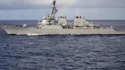 Mỹ muốn gì khi đưa tàu chiến qua eo biển Đài Loan?