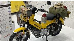 Honda Cross Cub 110 bản độ tuyệt đẹp: Dành riêng cho fan có sở thích câu cá