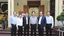 Bộ trưởng Mai Tiến Dũng thăm, chúc Tết nguyên Thủ tướng Nguyễn Tấn Dũng