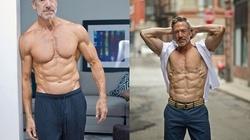 Sững sờ với body đẹp như tượng tạc của ông chú 60 tuổi