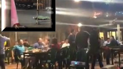Tài xế taxi bị cắt cổ tử vong ở Hà Nội: Khách quán nhậu vẫn ăn uống 'như không'