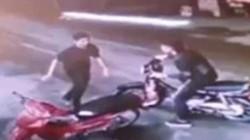 Clip: Công bố hình ảnh nghi phạm cắt cổ tài xế taxi ở Mỹ Đình