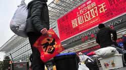 Kinh tế khó khăn, người Trung Quốc ngại đi nghỉ Tết xa
