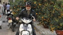 """Quảng Ninh: Chở thuê đào, quất Tết, """"hái"""" ngon ơ tiền triệu/ngày"""