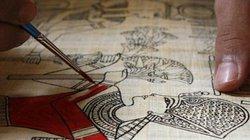 Giải mã nguyên liệu cực bền người Ai Cập cổ đại dùng tạo mực viết