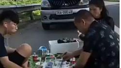 Truy tìm người đàn ông livestream ăn nhậu trong làn khẩn cấp cao tốc Nội Bài - Lào Cai