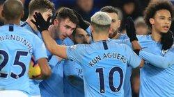 2 bàn phút bù giờ, Man City đoạt ngôi đầu từ Liverpool