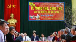 Hơn 150 cụ cao tuổi ở Hà Tĩnh được mừng thọ tập thể ngày đầu xuân