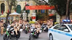 Clip: CSGT Hà Nội ra quân dịp cao điểm Tết và các lễ hội