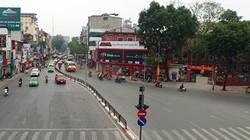Ảnh: Đường phố Hà Nội vắng vẻ lạ thường ngày đầu sau kỳ nghỉ Tết