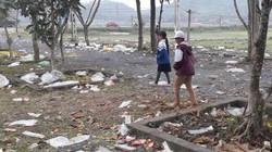 Thái Nguyên: Sau lễ hội, Đền Đuổm ngập ngụa trong rác