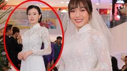 """Sao Việt rủ nhau đi """"ăn cưới"""" Diệu Nhi, người đẹp này vừa xuất hiện đã bị nhầm là cô dâu"""