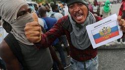Người dân Haiti xuống đường phản đối Mỹ, cầu cứu Putin