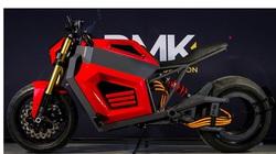 Soi mô tô tương lai RMK E2: Ổ bánh sau không trục, chạy điện