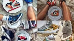 Những đôi giày thể thao độc đáo nhưng chỉ dùng để... ăn