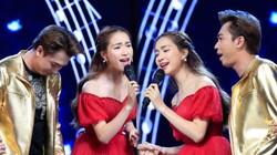 """Hòa Minzy """"khẩu chiến"""" với Hồ Việt Trung để giành thí sinh trên sóng"""
